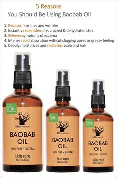 5 reasons YOU should be using #baobab oil Oil For Dry Skin, Oils For Skin, Baobab Oil, Baobab Tree, Hair Growing Tips, Eczema Symptoms, Diy Hair Care, Cracked Skin, Oil Benefits