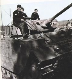 "7th Panzer Division with Pzkw III ""I02"""
