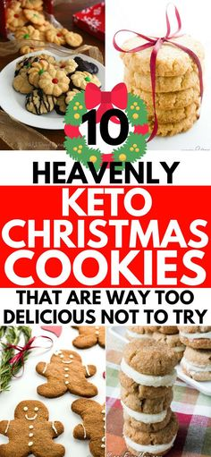 These mouth-watering keto Christmas cookies will guarantee the best Christmas ev. These mouth-watering keto Christmas cookies will guarantee the best Christmas ever in Bake them for your family or give the low carb cookies as . Keto Friendly Desserts, Low Carb Desserts, Low Carb Recipes, Diet Recipes, Chicken Recipes, Potato Recipes, Vegetable Recipes, Vegetarian Recipes, Keto Foods