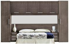 Dormitorio de matrimonio tipo puente fun f427 - Como decorar un cuarto pequeno ...