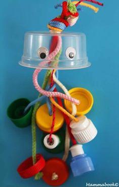 New Ideas For Montessori Baby Diy Simple Kids Crafts, Baby Crafts, Baby Sensory Play, Baby Play, Montessori Baby, Montessori Bedroom, Infant Activities, Activities For Kids, Handgemachtes Baby