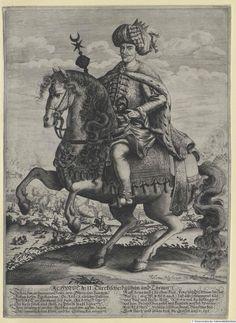 2. Ahmet 1691 - 1695. Achmet II., Sultan der Türkei, Österreichische Nationalbibliothek