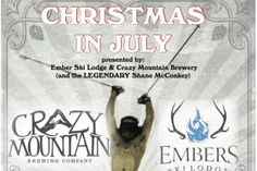 Jul 15: Christmas in July at Embers
