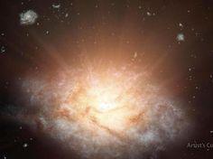 WISE J224607.57-052635.0 ist die hellste der bislang entdeckten Galaxien.