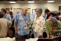 Alumni Reunion Event -Class of 1966 - in Special Collections and University Archives, June 4, 2016.