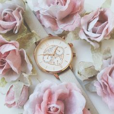 We think our Goldsmiths Exclusive Chrono is bloomin' lovely <3 #oliviaburton
