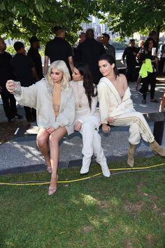 Kanye West Yeezy Season 4, le front row avec Kylie Jenner, Kendall Jenner et Kim…