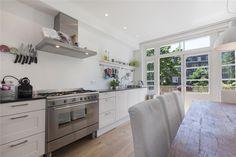 Rechte klassieke moderne keuken
