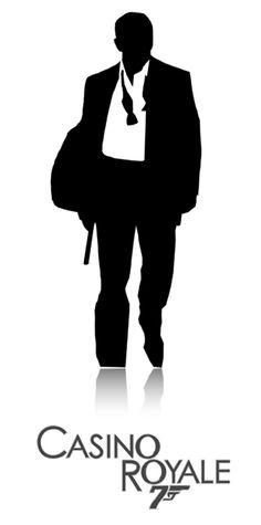 Minimalist Bond Poster: Casino Royale