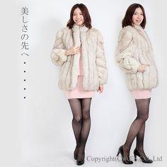 【中古】最上級/ブルーフォックスコート/9号