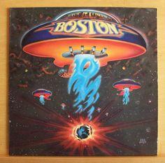 BOSTON - Same  (1st LP) - Vinyl LP More than a Feeling Rock & Roll Band Smokin`