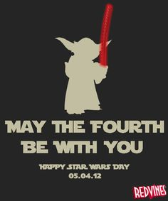Happy Star Wars Day from Red Vines