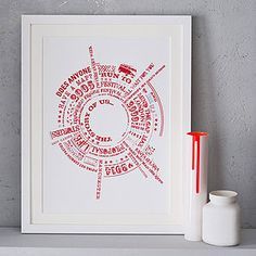 Personalised 'Story Of Us' Print - posters & prints