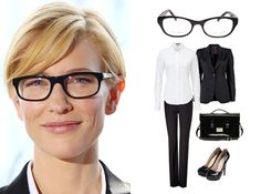 Cate Blanchett: Eyeglasses Pioneer  #TheLook