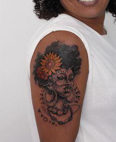Pretty Tattoos, Unique Tattoos, Cute Tattoos, Beautiful Tattoos, Body Art Tattoos, Girl Tattoos, Tatoos, Black People Tattoos, Dope Tattoos For Women