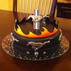 13 Best Mustang cake images   Mustang cake, Tire cake, Cake art