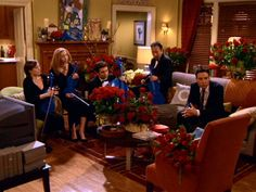 I love the colors in Robin's apartment on HIMYM