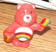 Vintage Cheer Bear Care Bear, Vintage Care Bear, 1983 - Rare