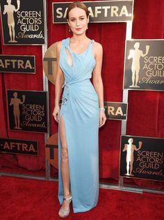 Brie Larson red carpet sag awards