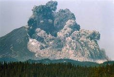 Mt. St. Helen's eruption in Washington state, May 18, 1980 - Google Search