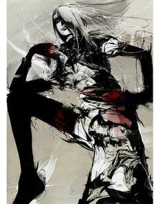 Modern art-  Russ Mills aka Byroglphics