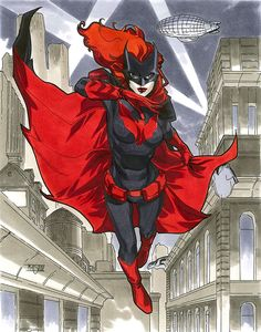 Batwoman - NYCC 2012 Pre-Show Commission by MahmudAsrar.deviantart.com on @deviantART