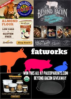 Beyond Bacon Ingredients Giveaway! by @Stacy Stone of Paleo Parents #paleo