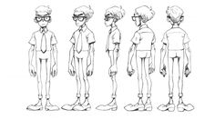 Vicious Circle: Character design on Character Design Served
