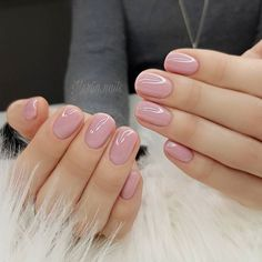 Are you looking for a trend for short nails in Are you struggling to make good-looking manicures without long nails? : Are you looking for a trend for short nails in Are you struggling to make good-looking manicures without long nails? Matte Pink Nails, Pink Glitter Nails, Nude Nails, Oxblood Nails, Soft Pink Nails, Acrylic Nails, Neutral Nails, Camo Nails, Neutral Wedding Nails