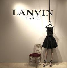 Visual Merchandising: Lanvin
