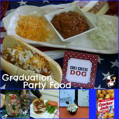 college graduation party ideas food | Graduation Party Menu and Weekly Menu Plan