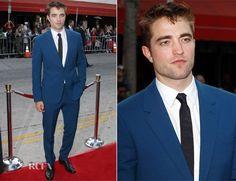 Robert Pattinson In Alexander McQueen – 'The Rover' LA Premiere
