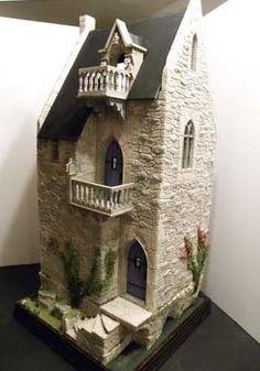 """Rapunzel's Tower"" by Rik Pierce, idea for fairy garden house"