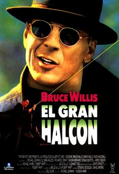 Bruce Willis in hudson hawk poster