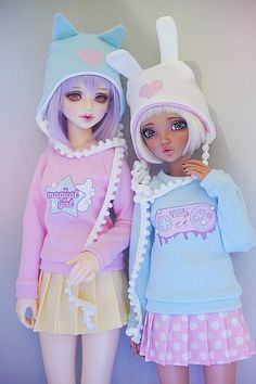 Unoa Lusis & Minifee Chloe   by Cyristine