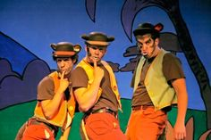 Seussical - Wickersham Brothers (hats)
