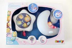 Cotoons - Night Light & Musical Pull Toy - Gift Set - Pink
