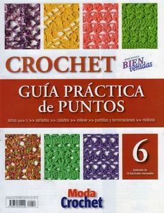 Revistas de manualidades Gratis: Revista de Crochet gratis 6