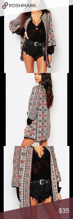 Selling this Boohoo Jacquard Bed Jacket in my Poshmark closet! My username is: lizaveta0412. #shopmycloset #poshmark #fashion…