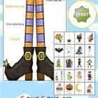 FREE+Halloween+Vocabulary+Chart+-+PDF+file  A+2+page,+free+file+designed+by+Clever+Classroom.  Easily+print+this+chart+and+use+a+display+on+your+Ha...