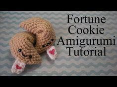 Fortune Cookie Amigurumi Tutorial