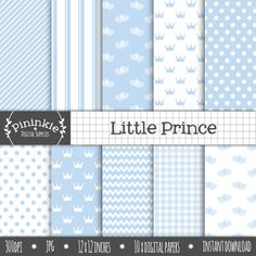 Little Prince Digital Paper Pack
