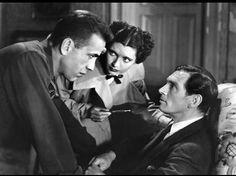 """King of the Underworld"" Humphrey Bogart, Kay Francis 1939 Warner Brothers"