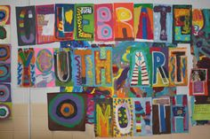 Youth Art Month and Other Displays