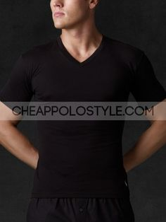 Cheap Ralph Lauren Classic Cotton V Neck Tee In Black  Price: $41.32  http://www.cheappolostyle.com/ralph-lauren-tees-ralph-lauren-classic-cotton-v-neck-tee-in-black-p-747.html