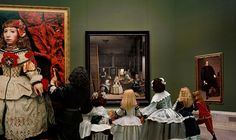 "The artist's latest project focuses on Diego Velazquez's ""Las Meninas."""