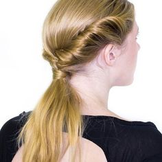 Who's in love with this low pony braid? Terry Richardson, Hair Inspo, Style Fashion, Salons, Pony, Braids, Editorial, Beauty, Instagram