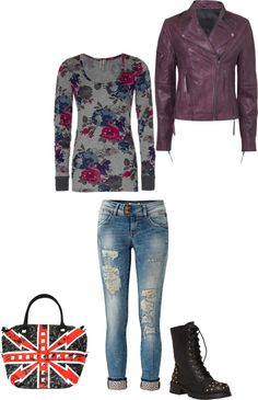 """Biker Love"" by alaina-suz on Polyvore"