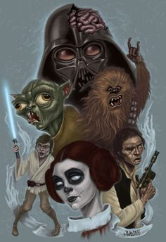 Zombie starwars...finally my 2 favorite things are combined!!!