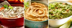 3 Dips fáciles y deliciosos | La Bioguía